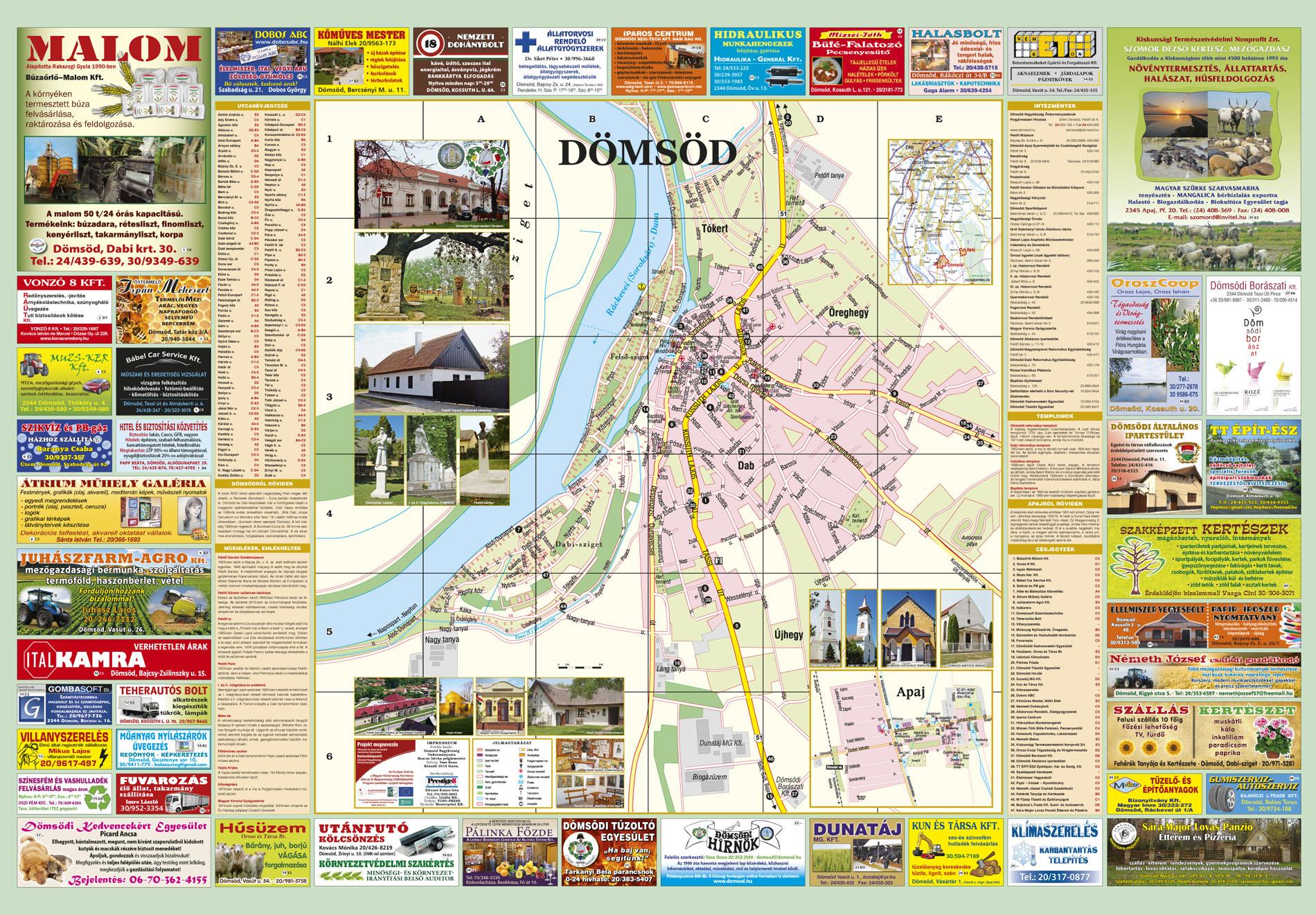 dömsöd térkép Térkép | DÖMSÖD Nagyközség Önkormányzatának Honlapja dömsöd térkép
