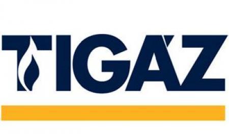 Tigáz - logo